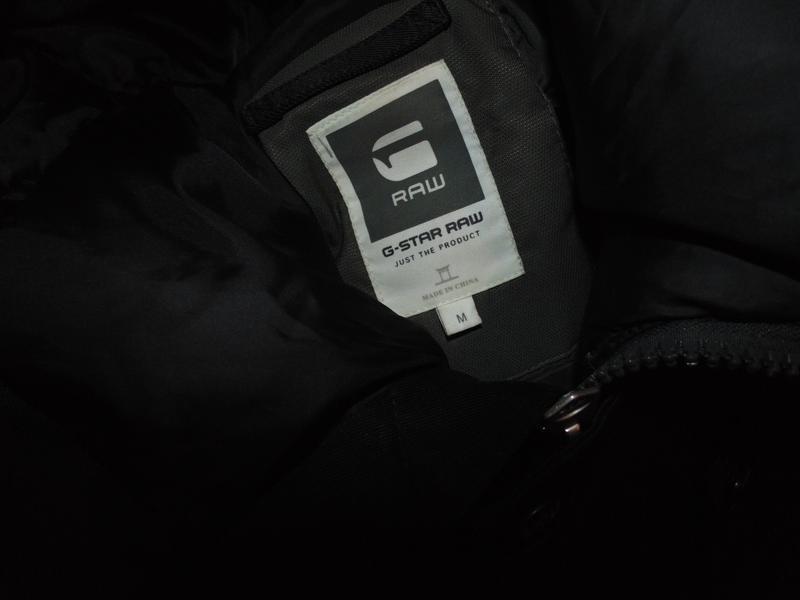 Куртка парка зимняя пуховик g-star raw оригинал по сути новая ... - Фото 7