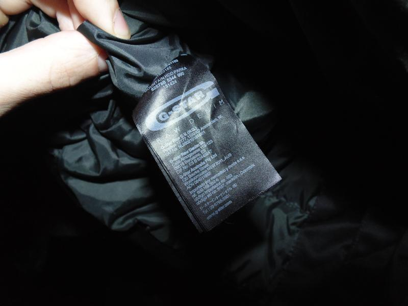 Куртка парка зимняя пуховик g-star raw оригинал по сути новая ... - Фото 8
