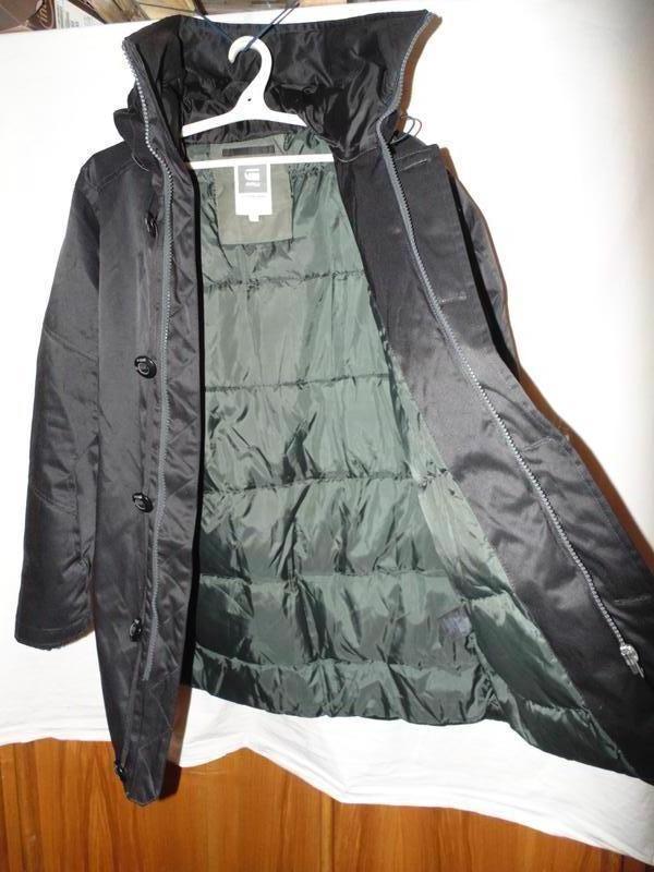 Куртка парка зимняя пуховик g-star raw оригинал по сути новая ... - Фото 9