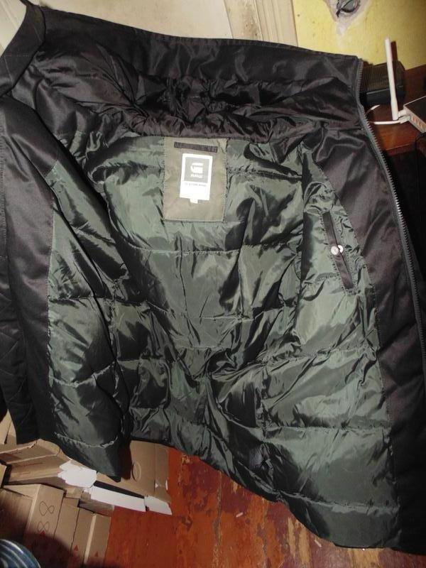 Куртка парка зимняя пуховик g-star raw оригинал по сути новая ... - Фото 10