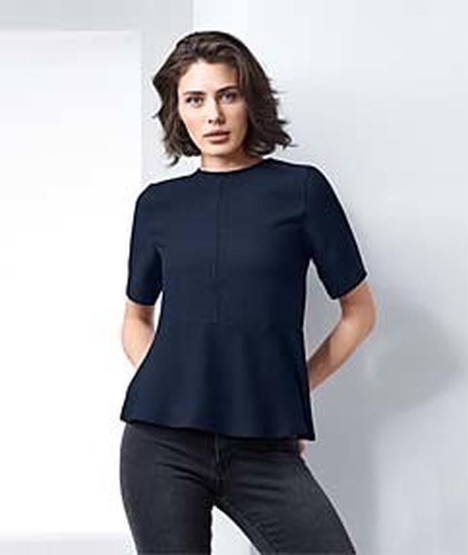 Стильная, элегантная блузка из крепа от tcm tchibo, германия