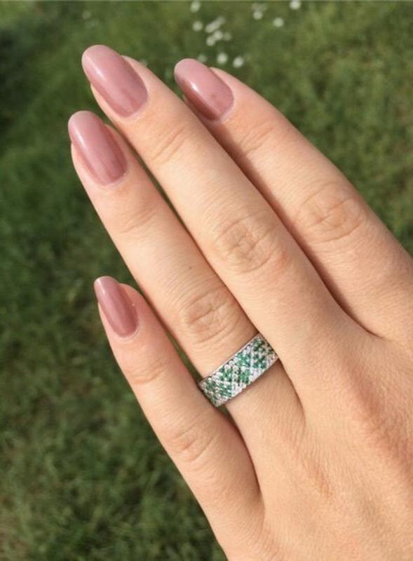Кольцо серебро 925 орнамент лк0116