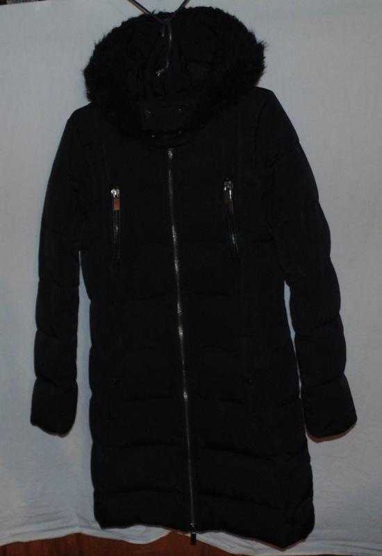 Пальто куртка пуховик натуральный пух mango mng оригинал разме...