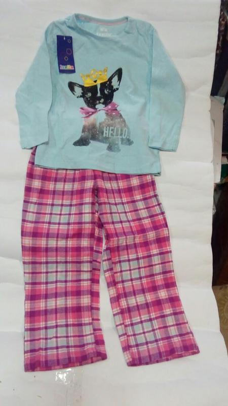 Костюм-пижама lupilu 4-6 лет для девочки