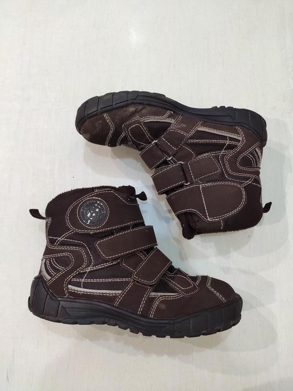 Tcm tchibo демисезонные сапоги ботинки на липучках