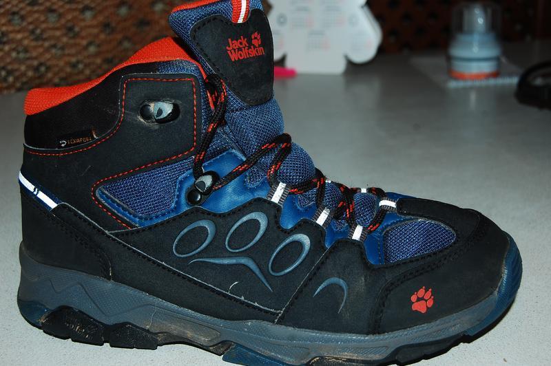 Деми ботинки jack wolfskin 35 размер