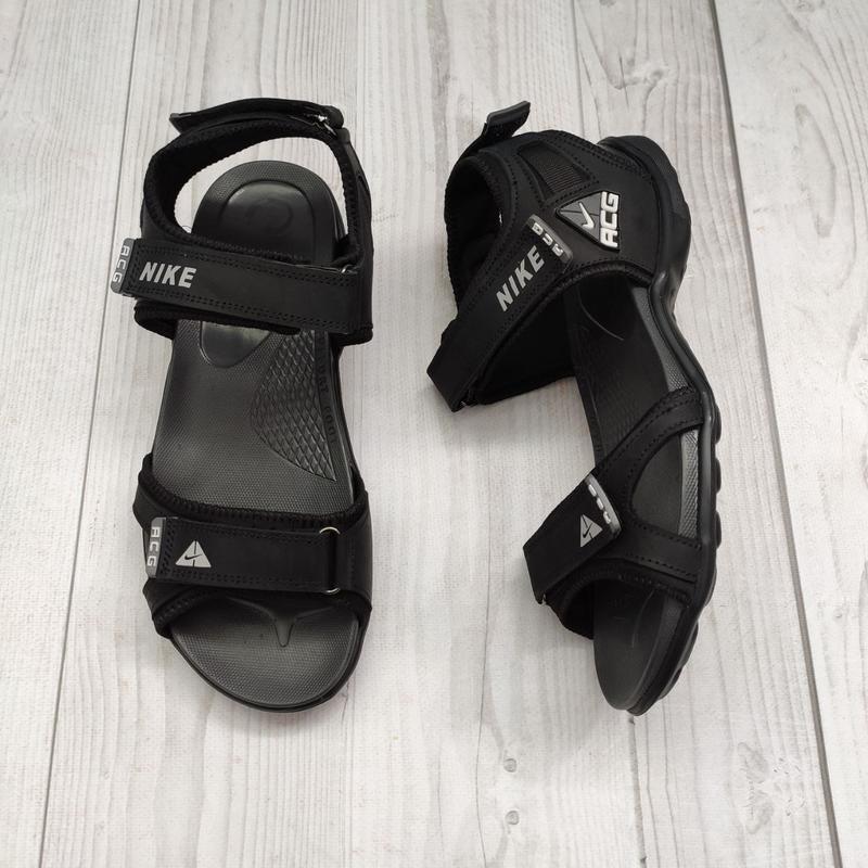 ???? стильные мужские сандалии сандали кожаные нубук