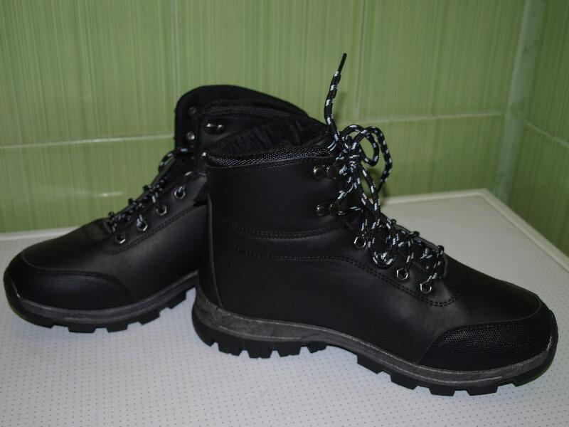 Зимние мужские ботинки спорт-41-46-dual- - Фото 4