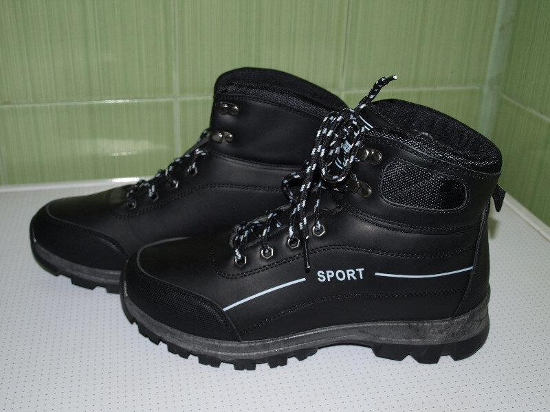 Зимние мужские ботинки спорт-41-46-dual- - Фото 5