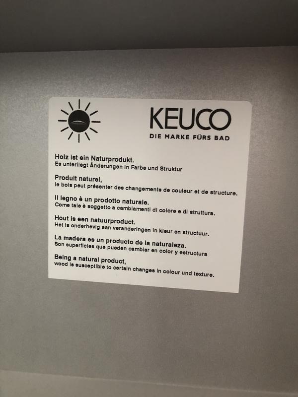 Keuco пенал (шкафчик) в ванную комнату - Фото 2