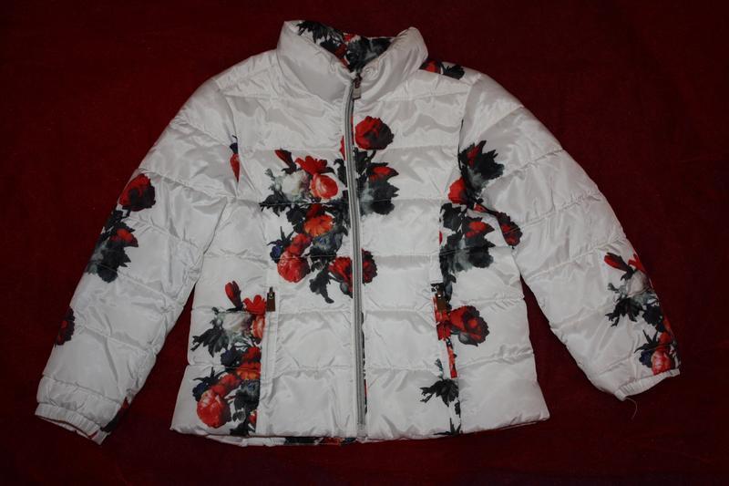 Шикарная курточка еврозима,деми ф.zara для девочки 4/5лет,идеа...