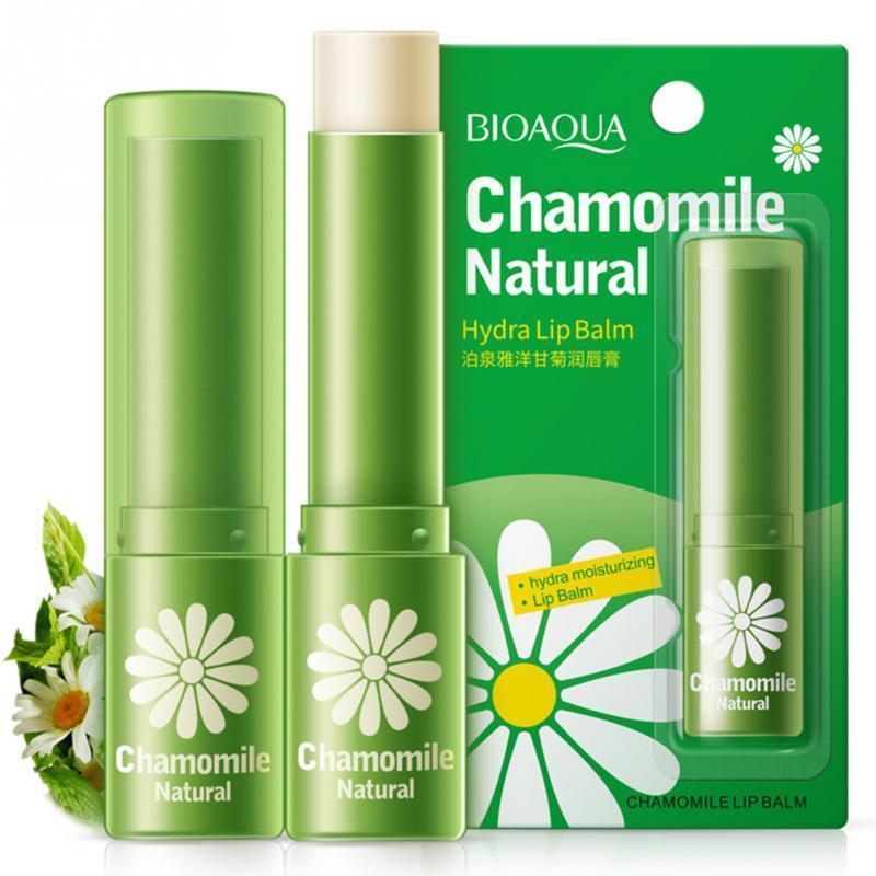 Бальзам для губ bioaqua chamomile natyral с экстрактом ромашки