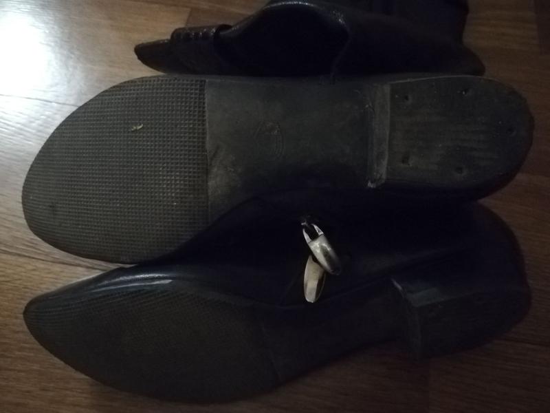 Кожаные сапоги 38 размер - Фото 5