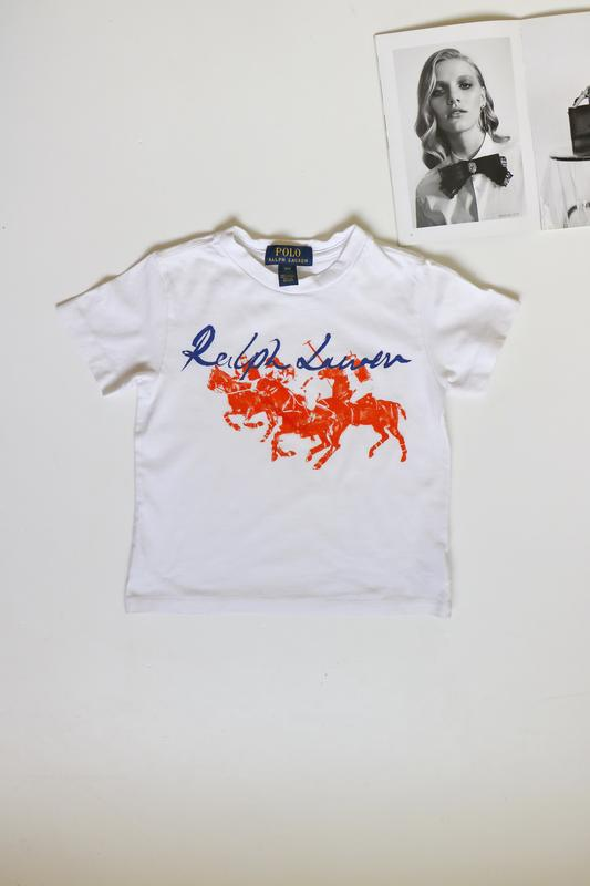 Детская футболка ralph lauren 2-4 года