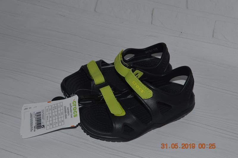 Нові оригінальні сандалі crocs™ swiftwater river розм. с10 (27...