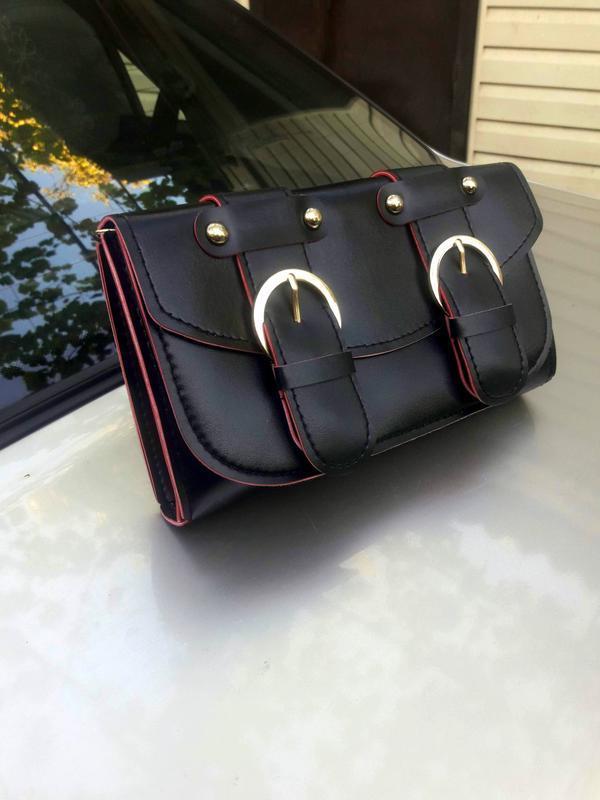 Вместительный клатч, сумка, сумочка