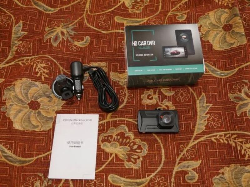 Видеорегистратор JUEFAN JF03 1080p FullHD