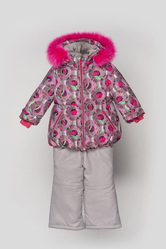 Курточка + штаны для девочки, детская, зимняя, софи.