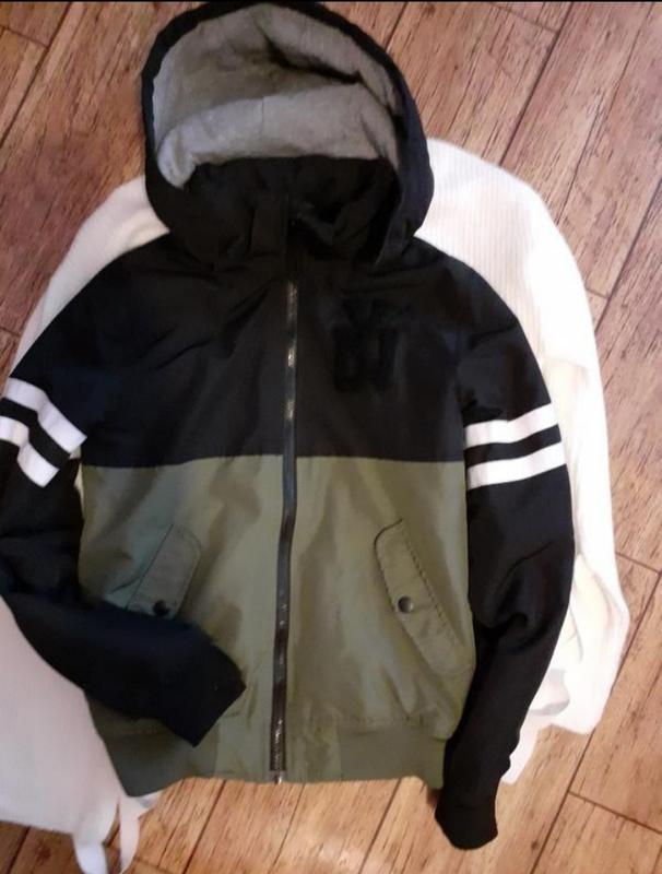Утепленная куртка от h&m