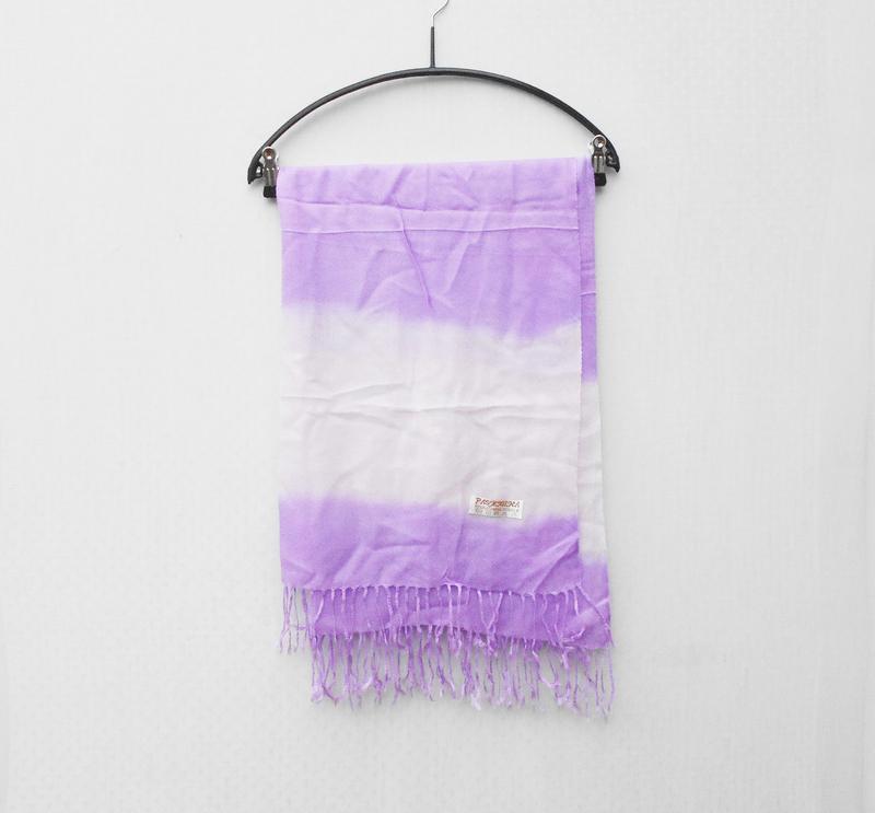Осенний весенний  широкий шарф палантин пашмина шелк