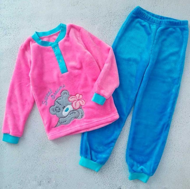 """Пижама для девочки """"мишка тедди"""""""