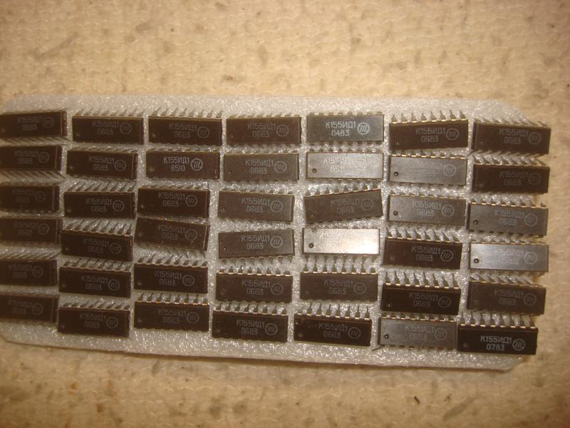 новые   микросхемы  К155ИД1