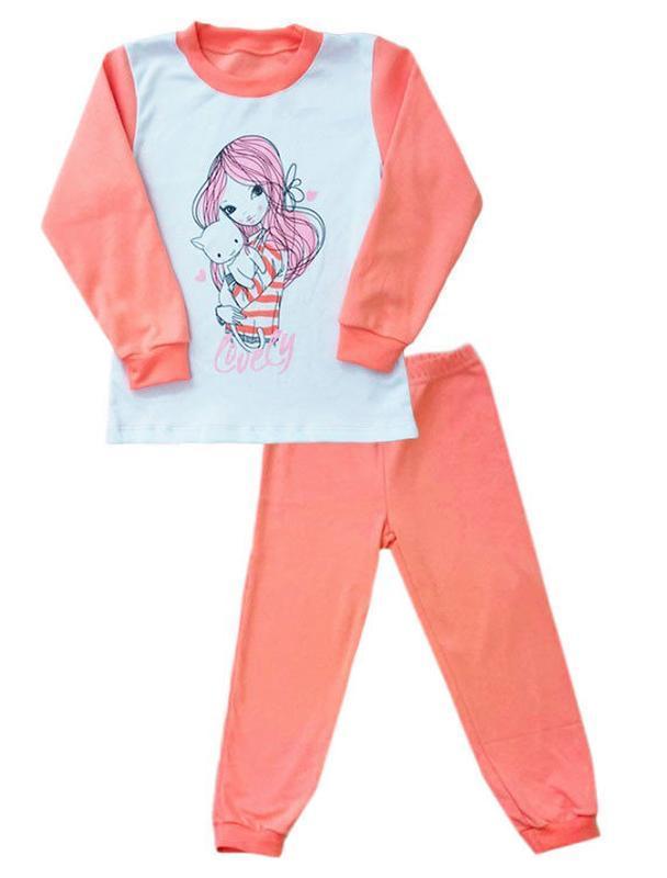 """Пижама подростковая для девочки """"милашка"""""""