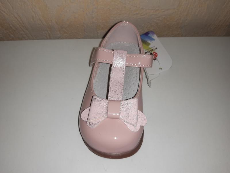 Розовые туфли на девочку 21-26 р kimboo