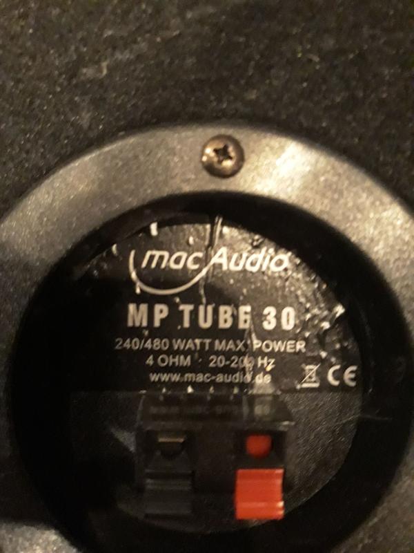 Сабвуфер MacAudio 240/480 Ватт - Фото 3
