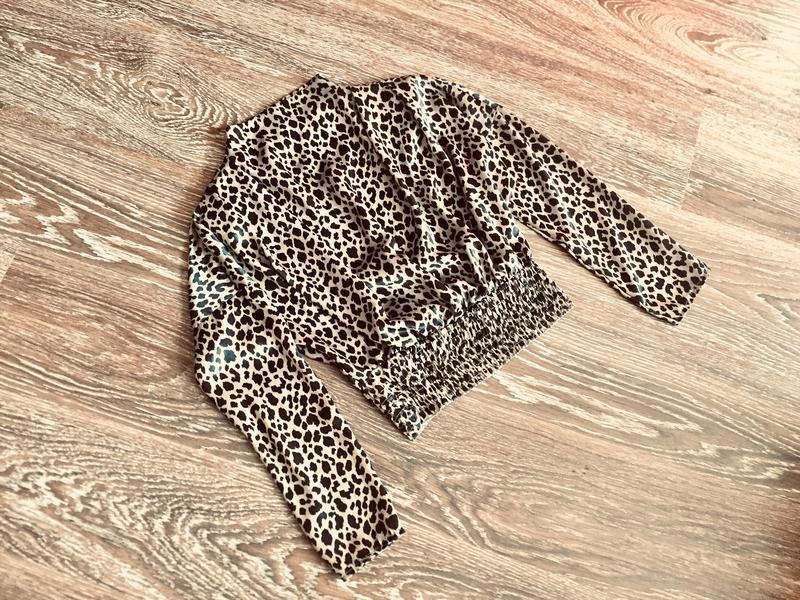 Леопардова блуза