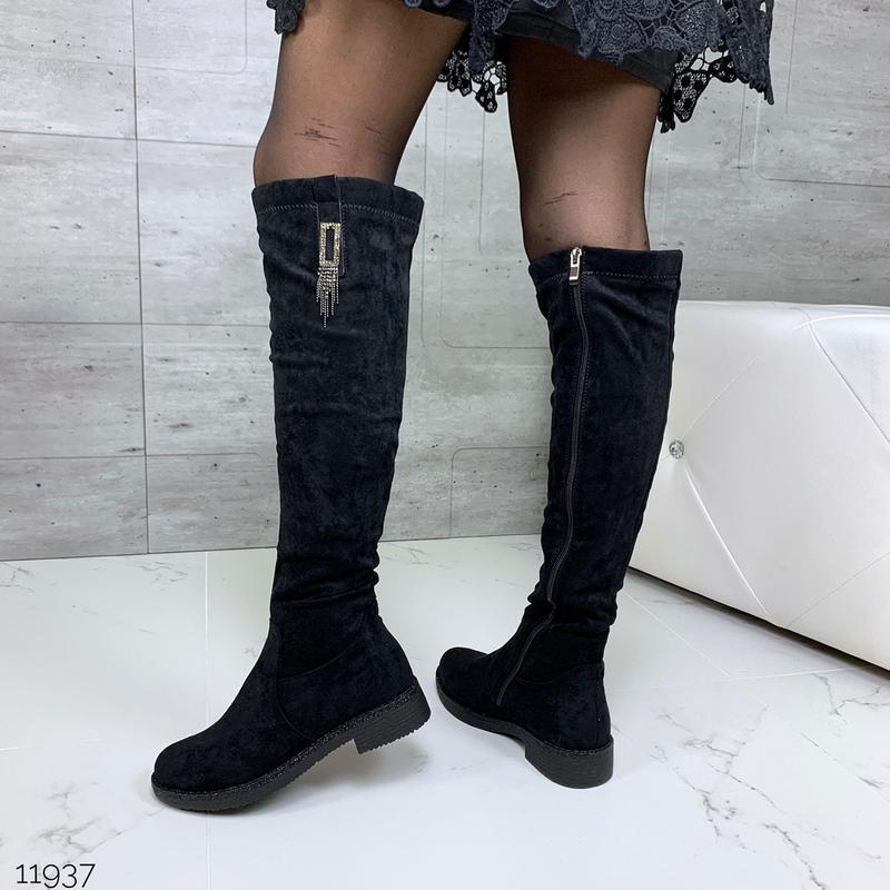 Акция🎄изящные сапожки еврозима черного цвета - Фото 8
