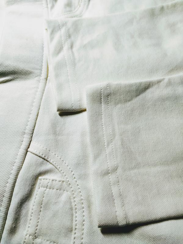 Не ношены! леггинсы цвета айвори esmara - Фото 3
