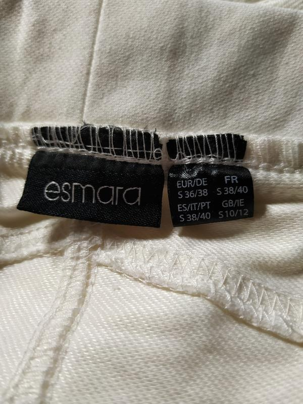 Не ношены! леггинсы цвета айвори esmara - Фото 7