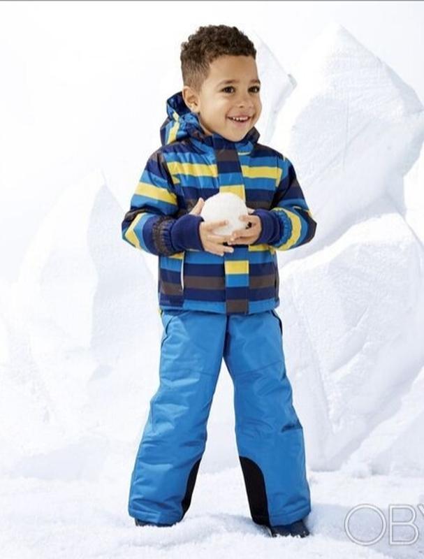 Мембранные горнолыжные штаны-комбинезон lupilu