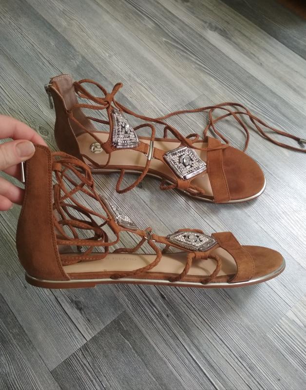 Скидка подписчикам!!! стильные босоножки сандали гладиаторы ri... - Фото 3