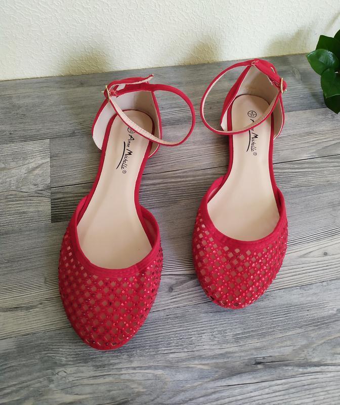 Скидка подписчикам!!!  новые балетки босоножки сандалии - Фото 3