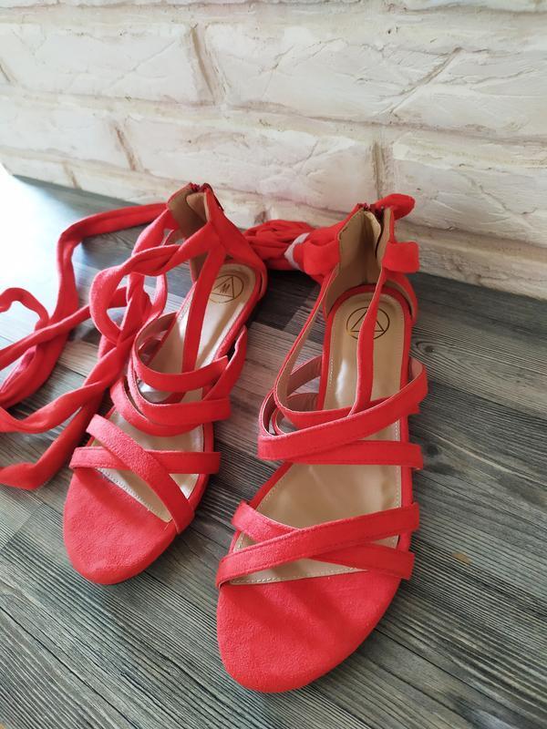 Шикарные новые босоножки сандалии гладиаторы