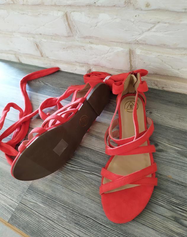 Шикарные новые босоножки сандалии гладиаторы - Фото 2