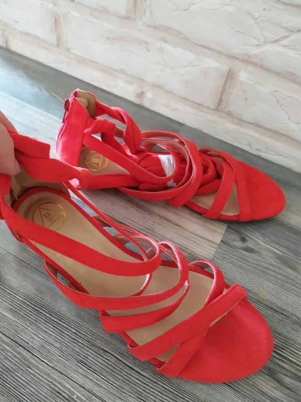 Шикарные новые босоножки сандалии гладиаторы - Фото 3