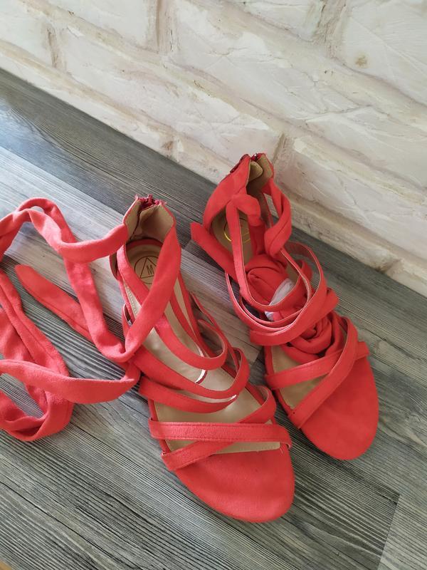 Шикарные новые босоножки сандалии гладиаторы - Фото 4