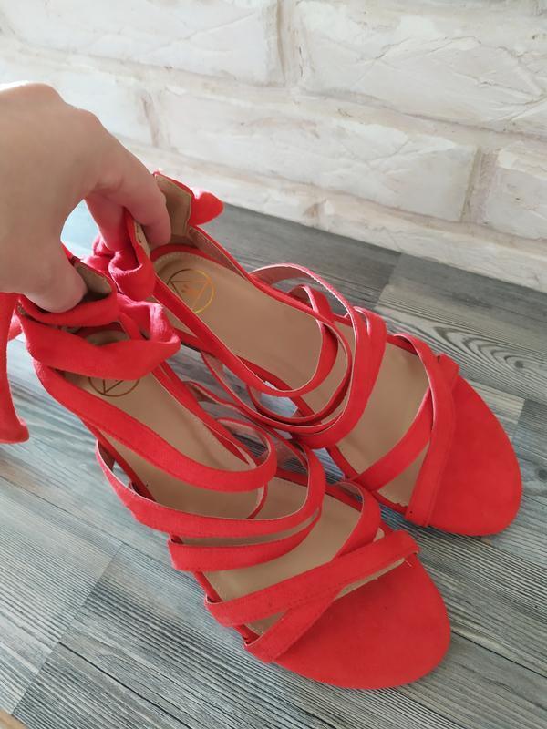 Шикарные новые босоножки сандалии гладиаторы - Фото 5