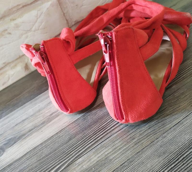 Шикарные новые босоножки сандалии гладиаторы - Фото 6