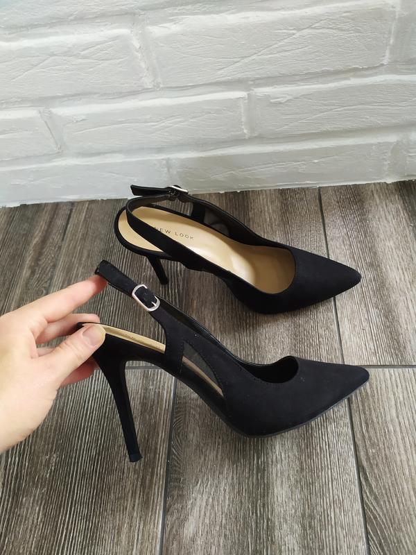 Шикарные босоножки туфли лодочки - Фото 3