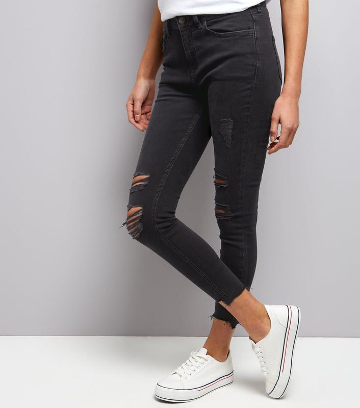 Крутые джинсы скинни с высокой посадкой талией new look jenna