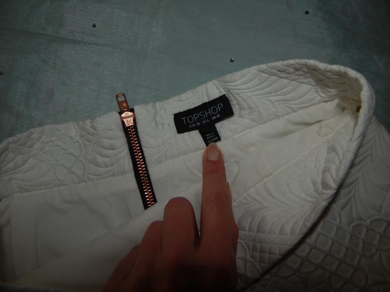 Topshop юбка шикарная новая модная р 10 - Фото 2