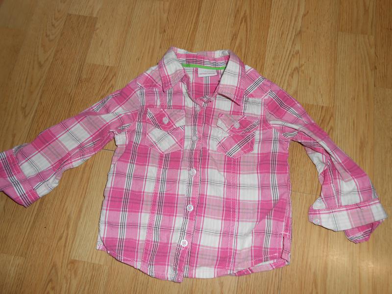 Рубашка на девочку 1,5-2 года