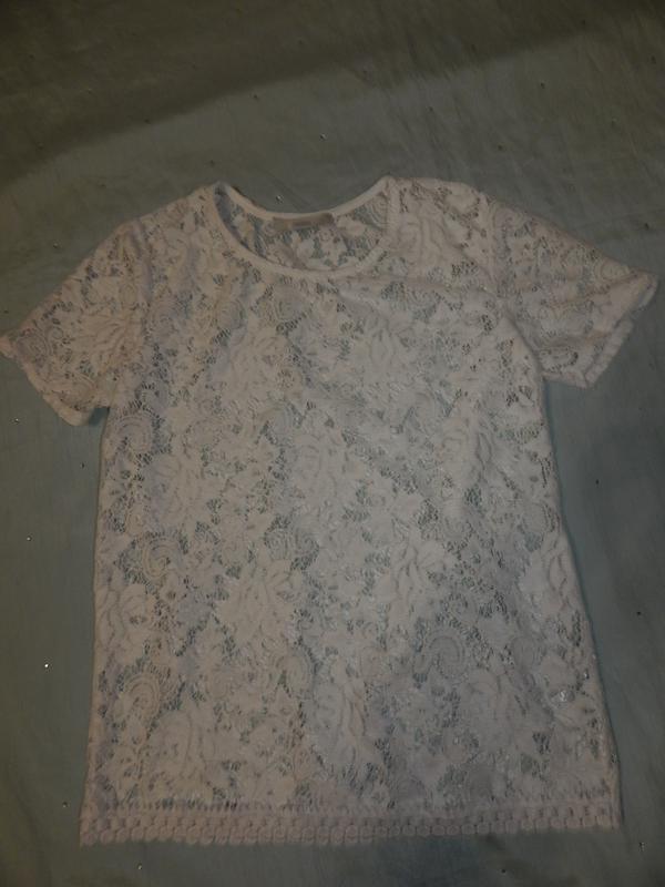George блузка кружевная стильная модная р8 новая - Фото 3