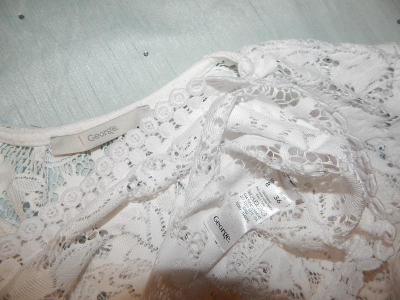 George блузка кружевная стильная модная р8 новая - Фото 4