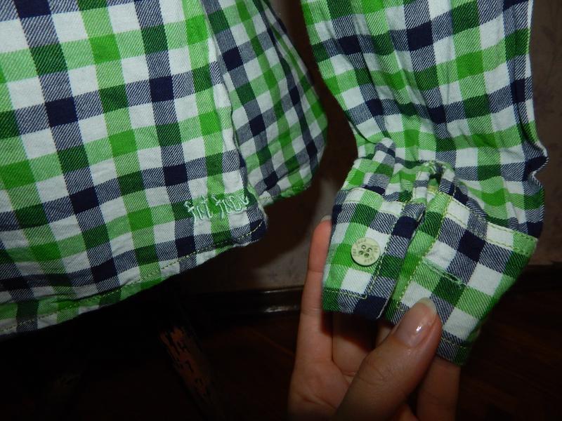 Fat faic рубашка в клетку стильная модная р12