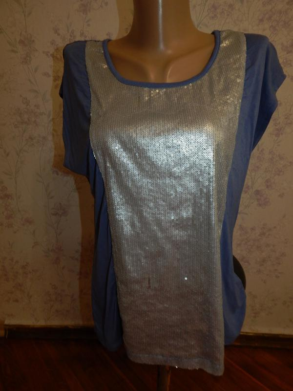 South блузка вискозная стильная модная р14